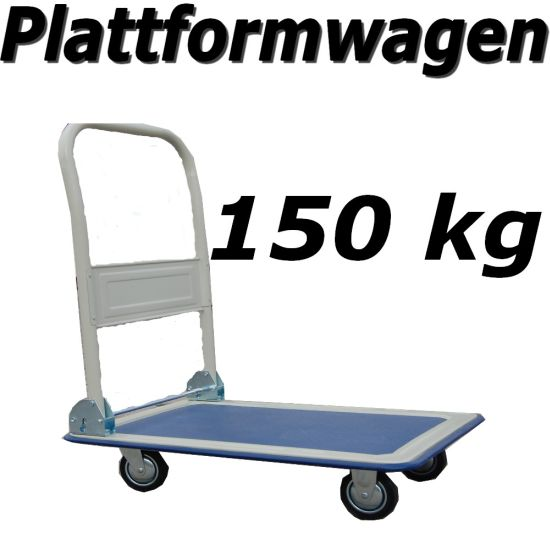 plattformwagen 150 kg t v gs transportwagen trolley ebay. Black Bedroom Furniture Sets. Home Design Ideas