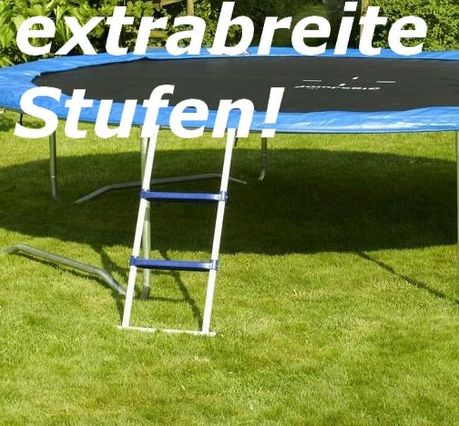 gigajump leiter f r trampolin 97 cm universal trampolinleiter einstiegsleiter ebay. Black Bedroom Furniture Sets. Home Design Ideas