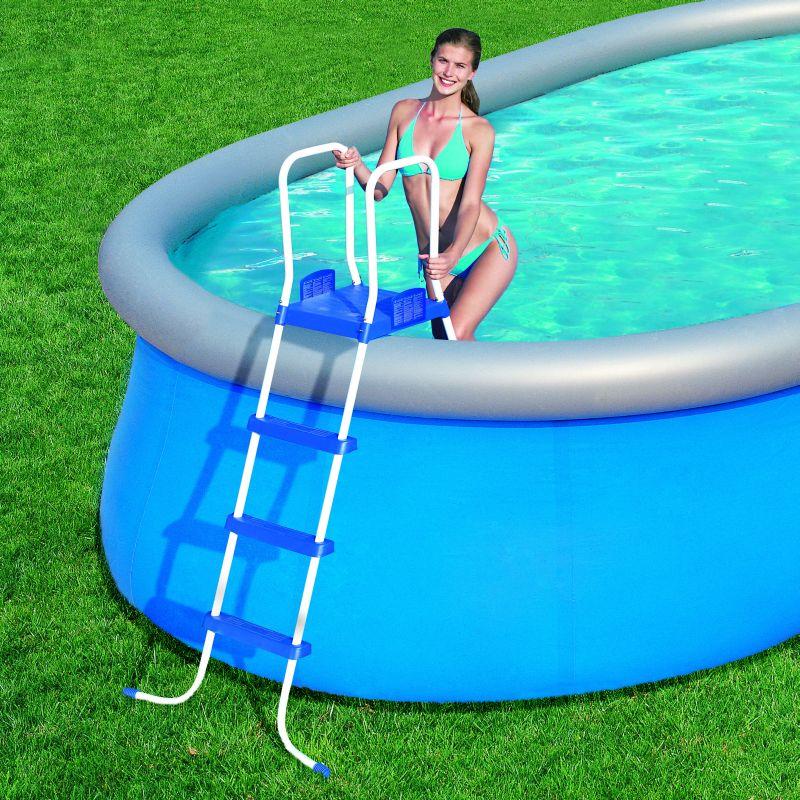 bestway pool leiter 122 cm poolleiter f quick up pool. Black Bedroom Furniture Sets. Home Design Ideas