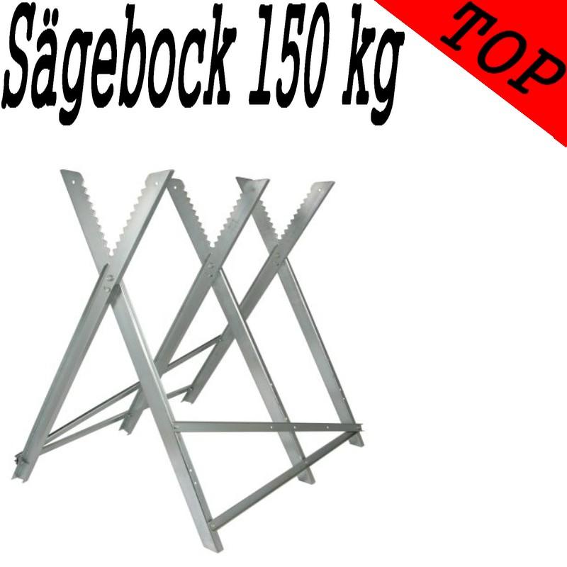 Diverse Sägebock verzinkt 150 kg Holzsägebock f Motorsäge Kettensäge Brennholz Säge Bock