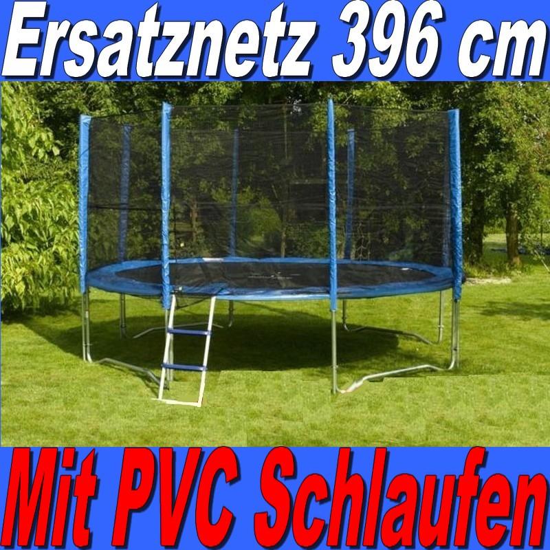 ersatznetz sicherheitsnetz netz fangnetz schutznetz f r trampolin 396 cm 3 96 m ebay. Black Bedroom Furniture Sets. Home Design Ideas