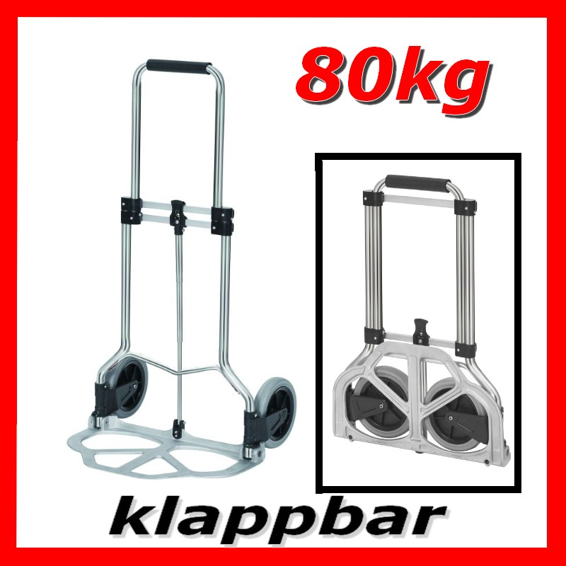 sackkarre transportkarre karre klappbar alu 80 kg neu ebay. Black Bedroom Furniture Sets. Home Design Ideas
