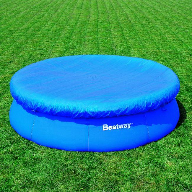 bestway pool cover abdeckplane f r quick up pool 366 cm ebay. Black Bedroom Furniture Sets. Home Design Ideas