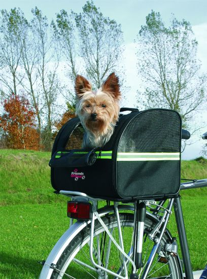trixie biker bag fahrradkorb f r kleine hunde bis 8 kg. Black Bedroom Furniture Sets. Home Design Ideas