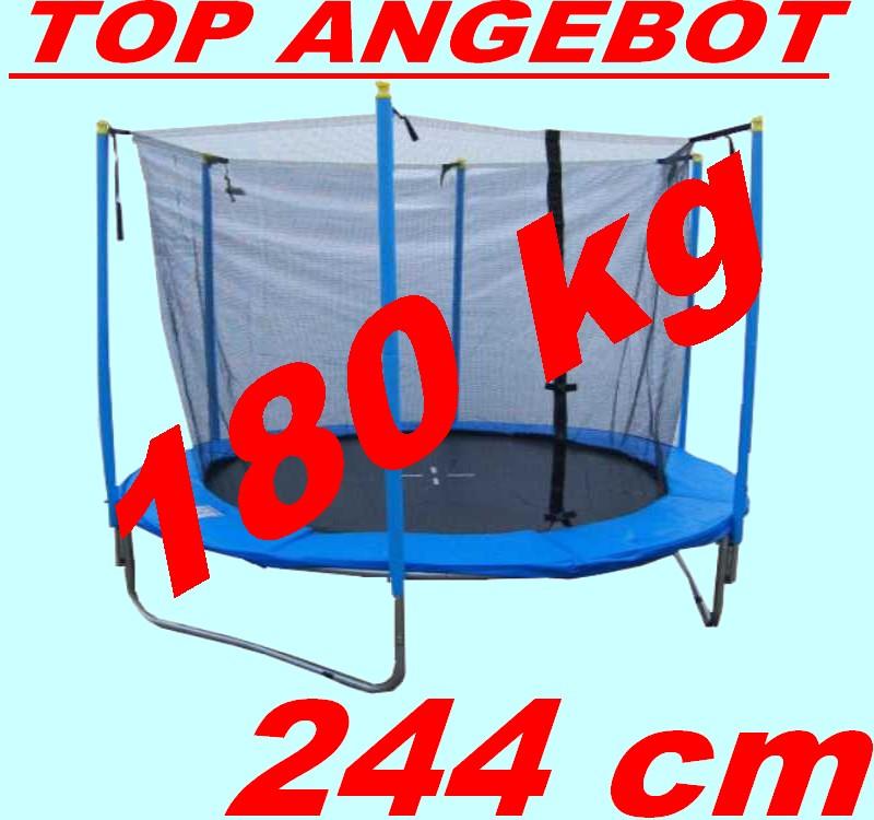 Gartentrampolin-244-250-cm-Trampolin-2-44-2-50-m-Netz-Sprungmatte-245-2-45